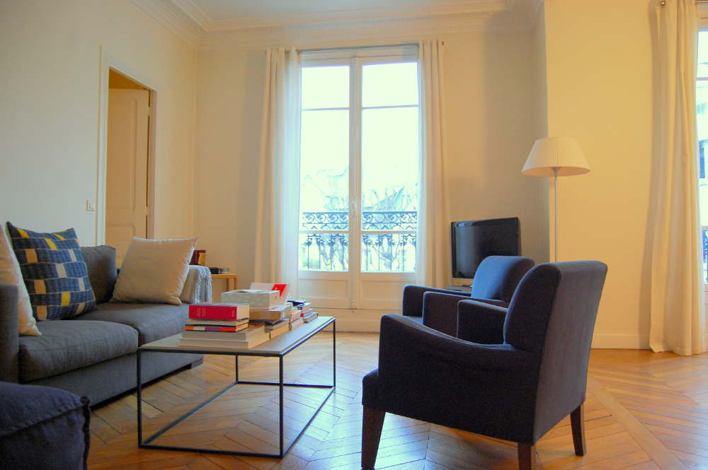 photo salon appartement Paris